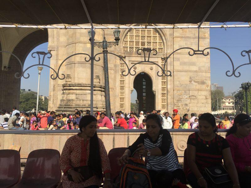 Am Gate of India, Mumbai